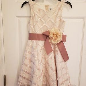 Kids size 7 evening dress